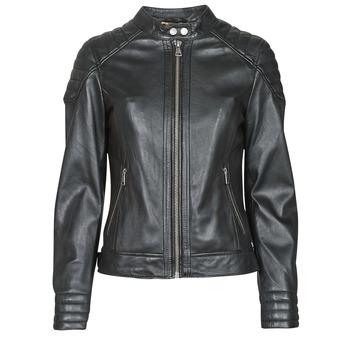 Odjeća Žene  Kožne i sintetičke jakne Oakwood ELLA Crna