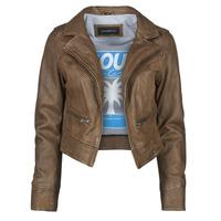 Odjeća Žene  Kožne i sintetičke jakne Oakwood TRISH Smeđa