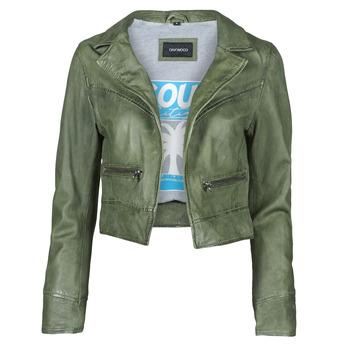 Odjeća Žene  Kožne i sintetičke jakne Oakwood TRISH Zelena