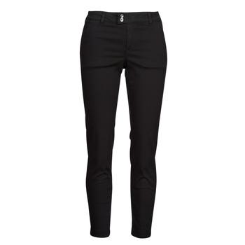 Odjeća Žene  Chino hlačei hlače mrkva kroja Les Petites Bombes NAOMIE Crna