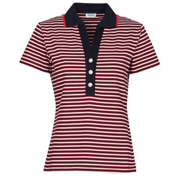 Odjeća Žene  Polo majice kratkih rukava Liu Jo WA1142-J6183-T9701 Bijela / Red