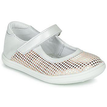 Obuća Djevojčica Balerinke i Mary Jane cipele GBB PLACIDA Bijela