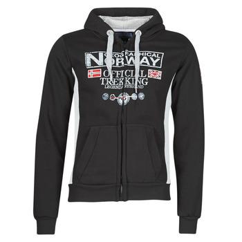 Odjeća Muškarci  Sportske majice Geographical Norway GAFONT Crna