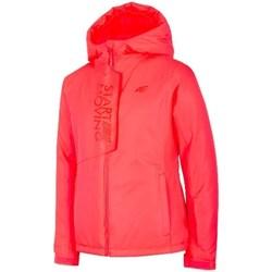 Odjeća Djevojčica Jakne 4F JKUDN001 Red