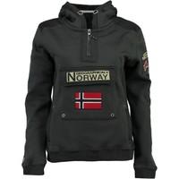 Odjeća Dječak  Sportske majice Geographical Norway GYMCLASS Siva