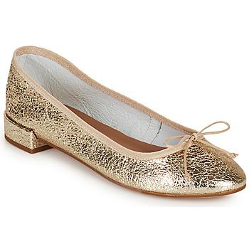 Obuća Žene  Balerinke i Mary Jane cipele Minelli PLIVIA Gold