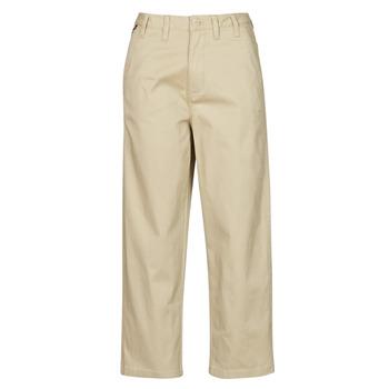 Odjeća Žene  Chino hlačei hlače mrkva kroja Tommy Jeans TJW HIGH RISE STRAIGHT Bež