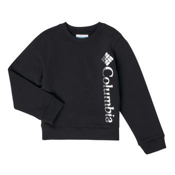 Odjeća Djevojčica Sportske majice Columbia COLUMBIA PARK FRENCH TERRY CREW Crna