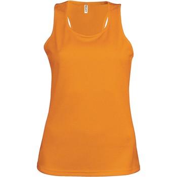 Odjeća Žene  Majice s naramenicama i majice bez rukava Proact Débardeur femme  Sport orange