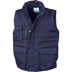 Odjeća Muškarci  Pernate jakne Result Doudounes Sans Manches  Matelassé Ripstop bleu royal