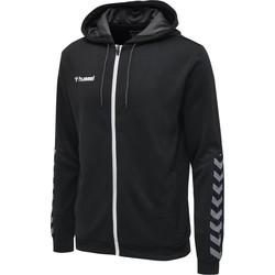 Odjeća Muškarci  Sportske majice Hummel Veste  zip hmlAUTHENTIC Poly noir/blanc