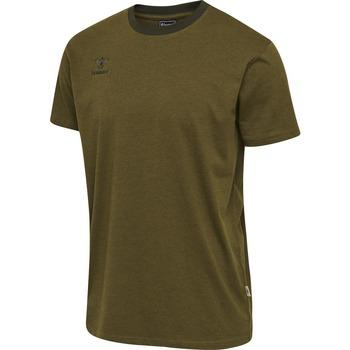 Odjeća Djeca Majice kratkih rukava Hummel T-shirt enfant  Lmove vert foncé