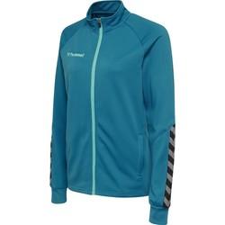 Odjeća Žene  Gornji dijelovi trenirke Hummel Veste femme  Zip hmlAUTHENTIC Poly bleu