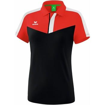 Odjeća Žene  Polo majice kratkih rukava Erima Polo femme  Squad rouge/noir/blanc
