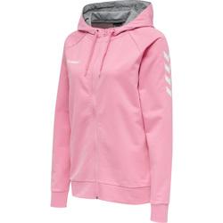 Odjeća Žene  Sportske majice Hummel Veste à capuche femme  hmlGO Zip rose