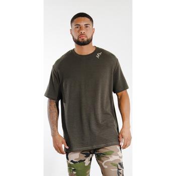 Odjeća Muškarci  Majice kratkih rukava Sixth June T-shirt  logo épaule kaki