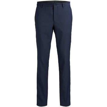 Odjeća Muškarci  Hlače od odijela Jack & Jones Pantalon  Solaris bleu foncé