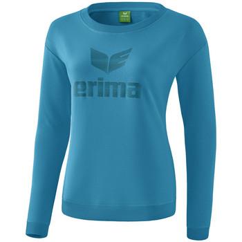 Odjeća Žene  Majice dugih rukava Erima Sweat-shirt femme  Essential bleu clair/bleu