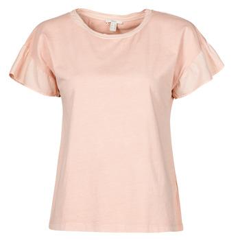 Odjeća Žene  Majice kratkih rukava Esprit T-SHIRTS Ružičasta