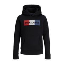Odjeća Dječak  Sportske majice Jack & Jones JJECORP LOGO PLAY SWEAT Crna