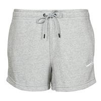Odjeća Žene  Bermude i kratke hlače Nike NSESSNTL FLC HR SHORT FT Siva / Bijela