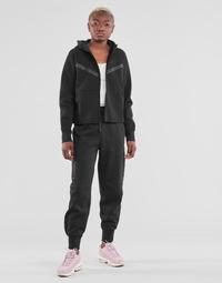 Odjeća Žene  Donji dio trenirke Nike NSTCH FLC ESSNTL HR PNT Crna