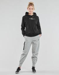 Odjeća Žene  Donji dio trenirke Nike NSTCH FLC ESSNTL HR PNT Siva / Crna