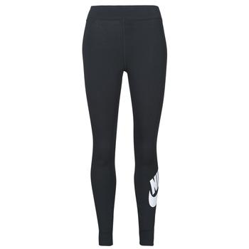 Odjeća Žene  Tajice Nike NSESSNTL GX HR LGGNG FTRA Crna / Bijela