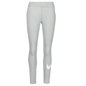 Odjeća Žene  Tajice Nike NSESSNTL GX MR LGGNG SWSH Siva / Bijela