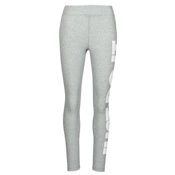 Odjeća Žene  Tajice Nike NSESSNTL GX HR LGGNG JDI Siva / Bijela