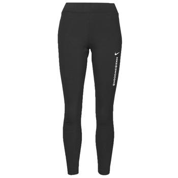 Odjeća Žene  Tajice Nike NSSWSH LGGNG HR Crna / Bijela