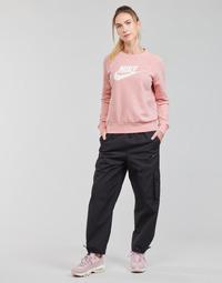 Odjeća Žene  Donji dio trenirke Nike NSICN CLASH PANT CANVAS HR Crna / Siva