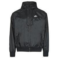 Odjeća Muškarci  Vjetrovke Nike NSSPE WVN LND WR HD JKT Crna / Bijela