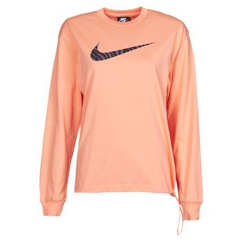 Odjeća Žene  Majice dugih rukava Nike NSICN CLSH LS TOP HBR Ružičasta / Ljubičasta
