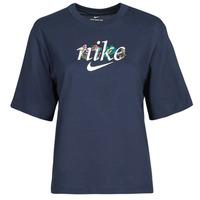Odjeća Žene  Majice kratkih rukava Nike NSTEE BOXY NATURE Blue