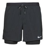 Odjeća Muškarci  Bermude i kratke hlače Nike DF FLX STRD 2IN1 SHRT 5IN Crna