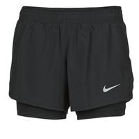 Odjeća Žene  Bermude i kratke hlače Nike 10K 2IN1 SHORT Crna