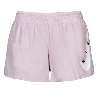 Odjeća Žene  Bermude i kratke hlače Nike SWOOSH RUN SHORT Ljubičasta / Bijela