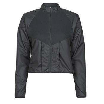 Odjeća Žene  Vjetrovke Nike RUN DVN TOP MID Crna / Gold