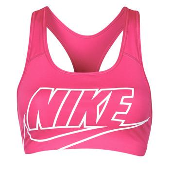 Odjeća Žene  Sportski grudnjaci Nike DF SWSH FUTURA GX BRA Ružičasta / Bijela