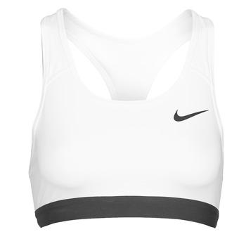 Odjeća Žene  Sportski grudnjaci Nike DF SWSH BAND NONPDED BRA Bijela / Crna
