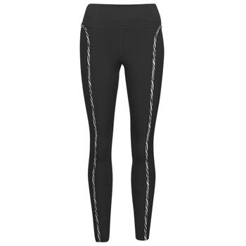 Odjeća Žene  Tajice Nike NIKE ONE LUXE ICNCLSH TGT Crna / Ljubičasta