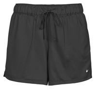 Odjeća Žene  Bermude i kratke hlače Nike DF ATTACK SHRT Crna / Bijela