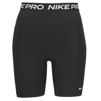 Odjeća Žene  Bermude i kratke hlače Nike NIKE PRO 365 SHORT 7IN HI RISE Crna / Bijela