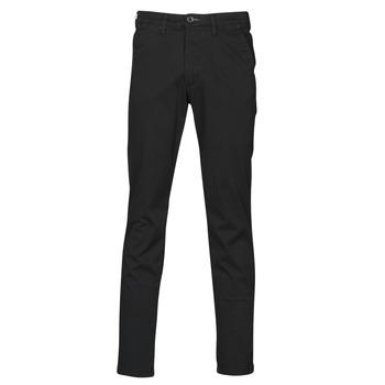 Odjeća Muškarci  Chino hlačei hlače mrkva kroja Selected SLHSLIM-MILES FLEX Crna