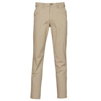 Odjeća Muškarci  Chino hlačei hlače mrkva kroja Selected SLHSLIM-MILES FLEX Bež