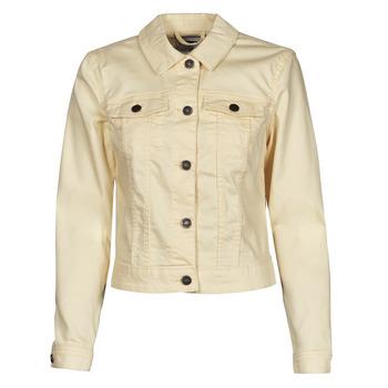 Odjeća Žene  Traper jakne Noisy May NMDEBRA Žuta