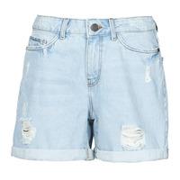 Odjeća Žene  Bermude i kratke hlače Noisy May NMSMILEY Blue / Svijetla