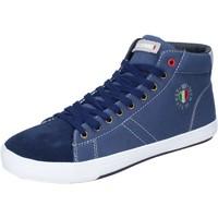Obuća Muškarci  Visoke tenisice Armata Di Mare Sneakers Tela Camoscio Blu
