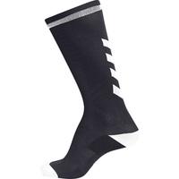 Modni dodaci Djeca Čarape Hummel Chaussettes  elite indoor high noir/blanc
